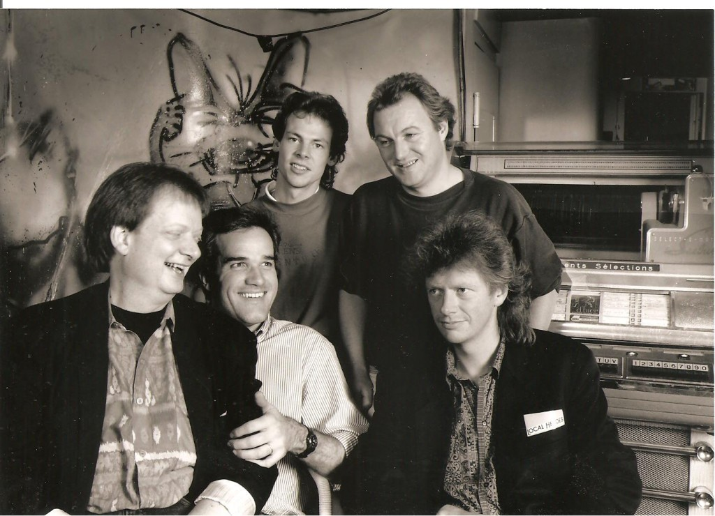 Local Heroes 1991 im Albani Winterthur, Ole Thilo, Robert Mark, Nick Mens, R.W., Jorgen Rygaard
