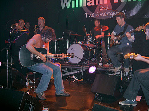 William White & The Emergency im Karlstorbahnhof Heidelberg 2005