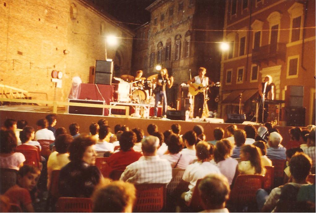 Mad Aroma 1985, in Italien, Citta della Pieve