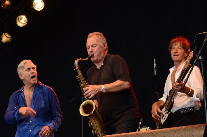 Rock Vereinigung Winterthur Reunion 2011. Markus Hodel, Roman, Bob Curiano (Ex Willy de Ville)