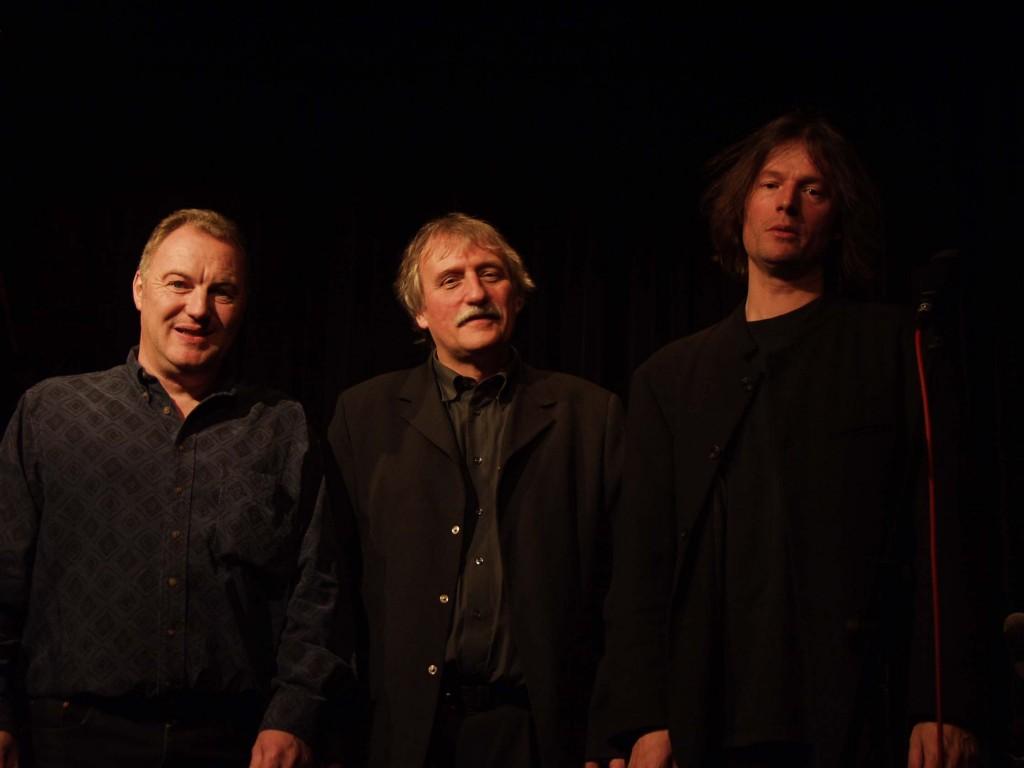 Kulturpreis 2001: R.W. Stadtpräsident Ernst Wohlwend, Dominik Blum